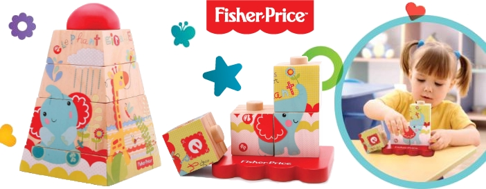 Fisher Price z drewna